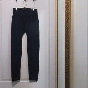 Pants Navy Blue footless leggings lined